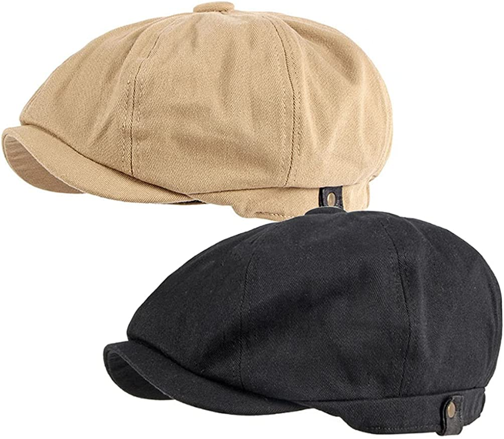 Men's 8 Panel Newsboy Our shop OFFers the best service Jacksonville Mall Cap Flat Dr Gatsby Hat Golf Cabbie Ivy