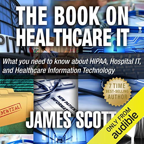The Book on Healthcare IT audiobook cover art