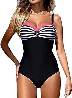 Mujer Una Pieza Monokini Push Up Padded Bra Bikini Swimsuit Trajes de Baño Bathing Sexy Traje De Baño Elegante Bikini 2019 Nuevo Traje De Baño De Mujer