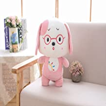 ChezMax Cute Plush Decorative Throw Pillow for Home Office Sofa Stuffed Animal Toys Back Cushion Creative Doll for Kids Ad...