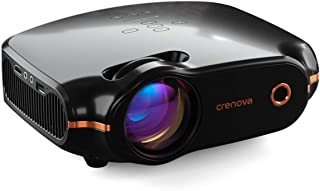 "Crenova Mini Projector, 3200 Lux Portable Home Video Projector with 1080P HD Supported, 200"" Display, Compatible with HDMI, PC, Fire Stick, PS4, TV Box, VGA, TF, AV, USB - Projeksiyon Cihazı"