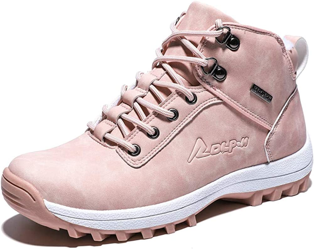 Mens Womens excellence Winter Fur Lined Warm Max 67% OFF Ou Mid Boots Waterproof Hiking