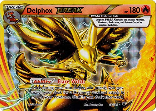 Pokemon - Delphox Break (14/124) - XY Fates Collide - Holo