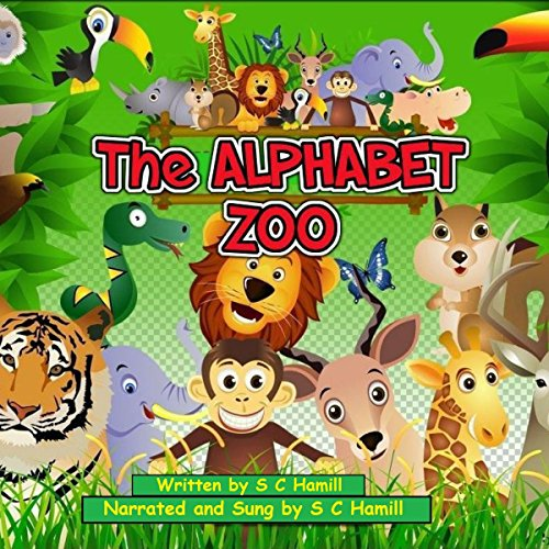 The Alphabet Zoo audiobook cover art