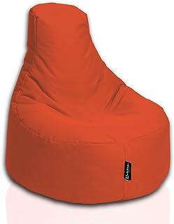 BuBiBag Zitzak Gamer Playstation fauteuil lounge kussen origineel zitkussen geschikt voor binnen en buiten gevuld met EPS ...