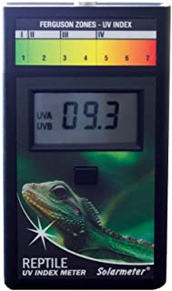 Solarmeter Model 6.5R Reptile UV Index Meter, ABS Polymer, Black