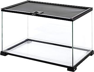 """REPTI ZOO Full Glass 15 Gallon Reptile Terrarium 20"""" x 12"""" x 14"""", Samll Habitat Cage Breeder Enclosure for Reptile Hamster..."""