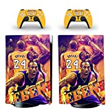 PS5 Digital Version Skin Decal Vinyl Wrap Cover Full Set Console and Controllers Compatible for Playstation 5, Bubble Free, Anti-scratch, Waterproof, same Decal used in Cars, Kobe, Basketball