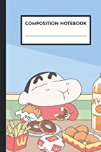 """Composition Notebook: Crayon Shin-Chan Themed, 6 x 9"""", 100 pages"""
