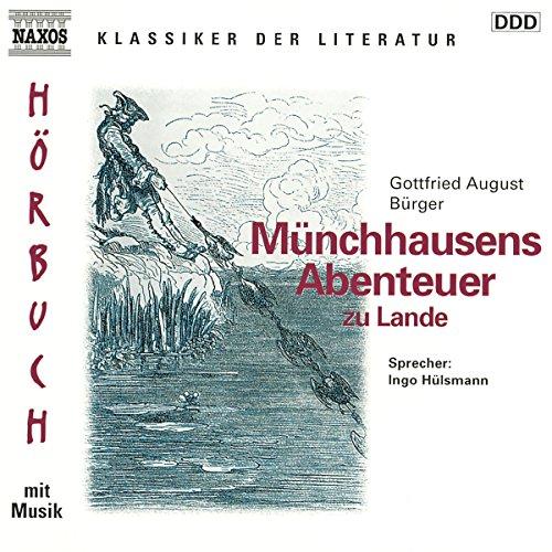 Münchhausens Abenteuer zu Lande Titelbild