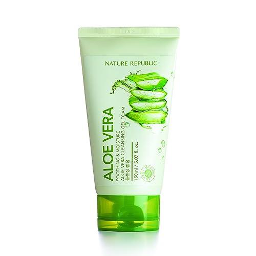 Aloe vera face soap