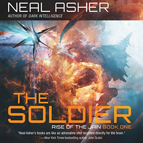 The Soldier audiobook cover art