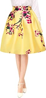 Best floral yellow skirt Reviews