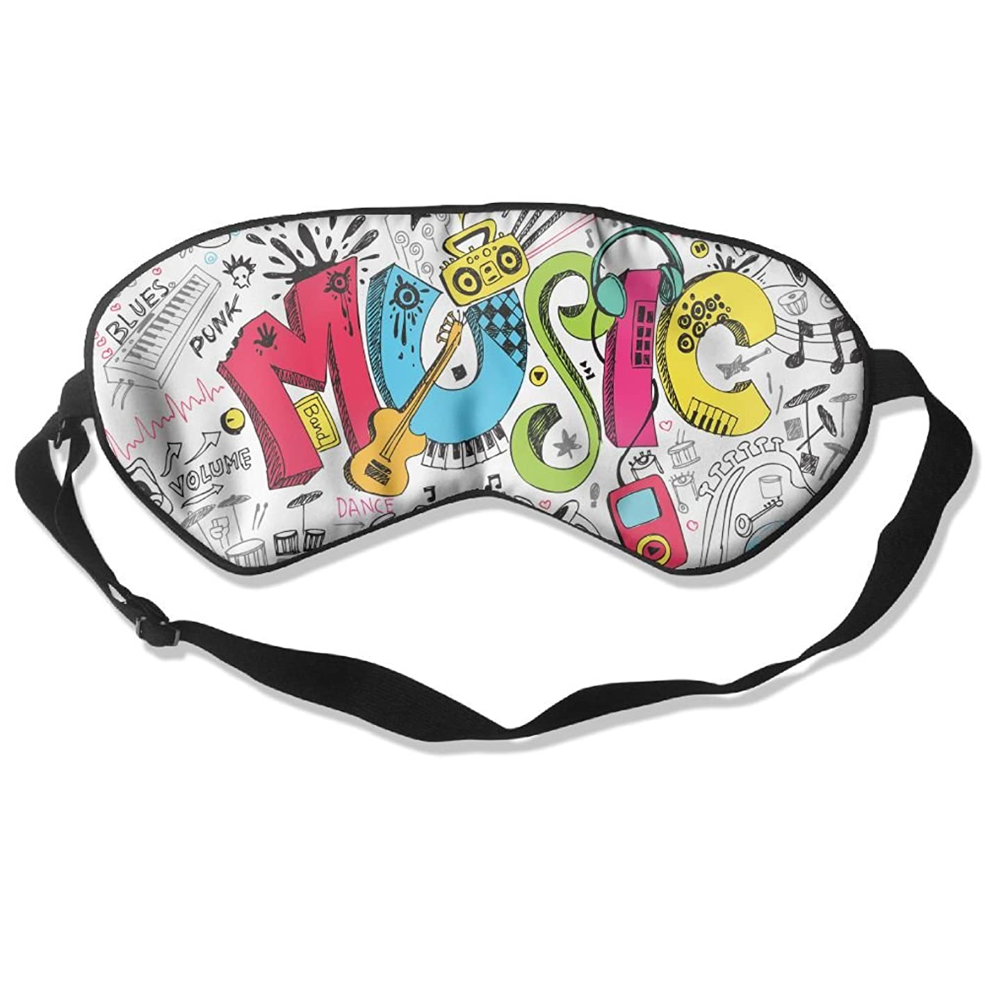 Sleep Mask Music Eye Cover Blackout Eye Masks,Soothing Puffy Eyes,Dark Circles,Stress,Breathable Blindfold for Women Men ulixodwjjxu721