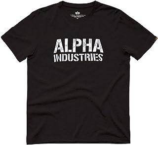 ALPHA INDUSTRIES Camo print T-shirt