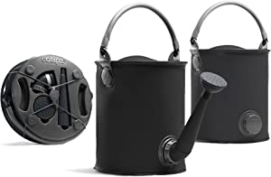 Colapz 1.5 Gallon Collapsible Garden Watering Can Outdoor - Converts to 2 Gallon Collapsible Bucket - Water Cans for Watering Plants - Foldable Watering Can - Two Colours