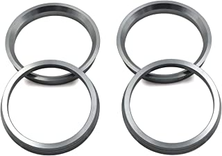 DCVAMOUS Alloy Aluminum Hub Centric Rings 72.6 to 56.1 Set of 4 Performance Spigot Hubrings fit 56.1mm Vehicle Hub and 72.6mm Wheel Center Bore Compatible with Subaru Forester Mini Honda