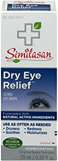 Similasan Dry Eye Relief Sterile Eye Drops 0.33 Ounce (Value Pack of 4)