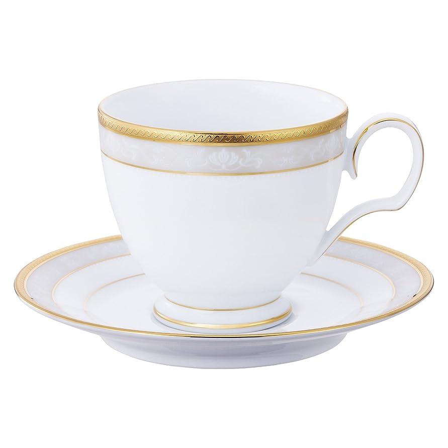 どうやって理想的には代表Noritake ファインポーセレン ハンプシャーゴールド ティー?コーヒー碗皿 T91988/4335