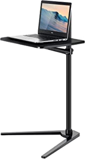 Viozon Floor Stand for Laptop Aluminum Height Adjustable Table for Bed Sofa, Upgraded and Reinforced Chassis,Applicable to...