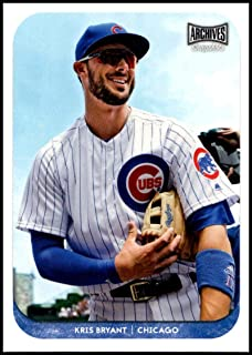 2018 Topps Archives Snapshots #AS-KB Kris Bryant NM-MT Chicago Cubs Official MLB Baseball Card