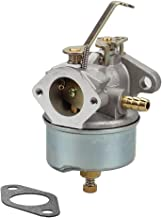 Savior Carburetor 632272 with Gasket for Tecumseh Carb H30 H50 H60 HH60 632230 Carb 5HP 6HP Troy-Bilt Hose Tiller Engine