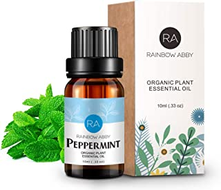 RainbowAbby - Peppermint Essential Oils - 100% Pure Natual Plant Olis, Best Therapeutic Grade - Skin Care, Aromatherapy, M...