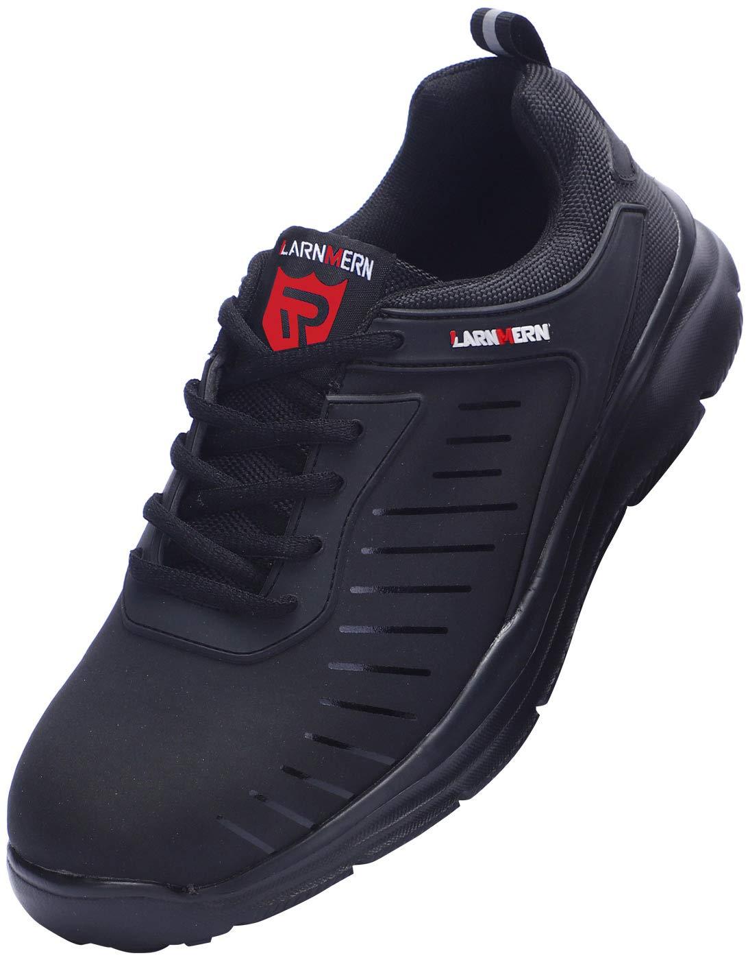 Black Himalayan Unisex Adults Skater Style Safety Shoes 3 UK 37 EU Black