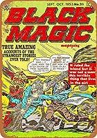 2個 20*30CMメタルサイン-ブラックマジックコミック2