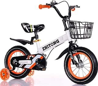 "TWTD-TYK Kid's Bike,Children's Bike, Kids Bike Boy/Girl's Toddler Training Bike for 2-9 Years, 12""14""16""18"" Childrens Bicycle with Flash Wheels/Mudguards"