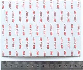 3 m VHB RP45 acrílico doble cinta de espuma adhesiva hoja - A6 - tamaño 15 cm x 10 cm
