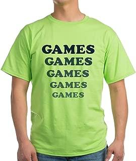 Games Light T-Shirt 100% Cotton T-Shirt, White