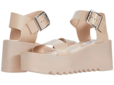 Steve Madden Lake Wedge Sandal (Blush Leather) Women