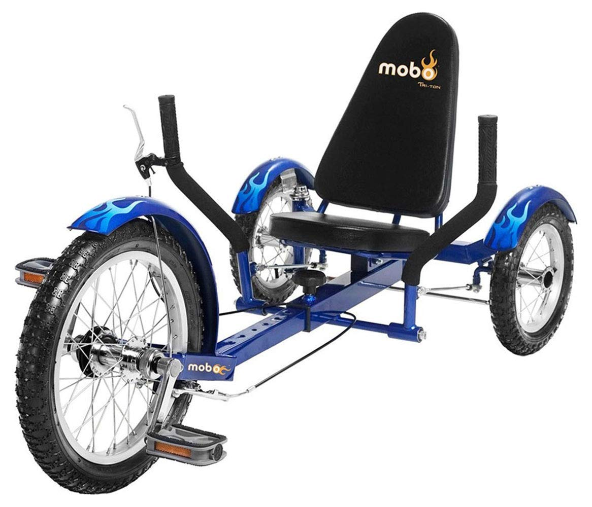 Mobo Recumbent 3 Wheel Cruiser Tricycle