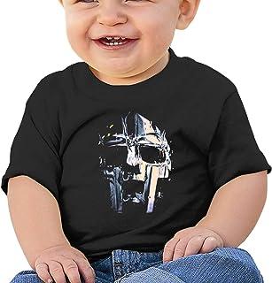 Dunpaiaa Charlie Brown MF Doom Newborn Crawling Suit Sleeveless Romper Bodysuit Onesies Jumpsuit Black