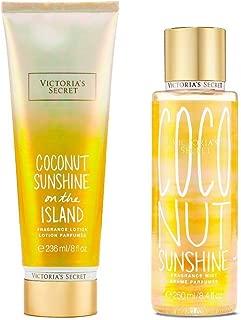 Victoria Secret Coconut Sunshine Body Lotion and Body Mist Set