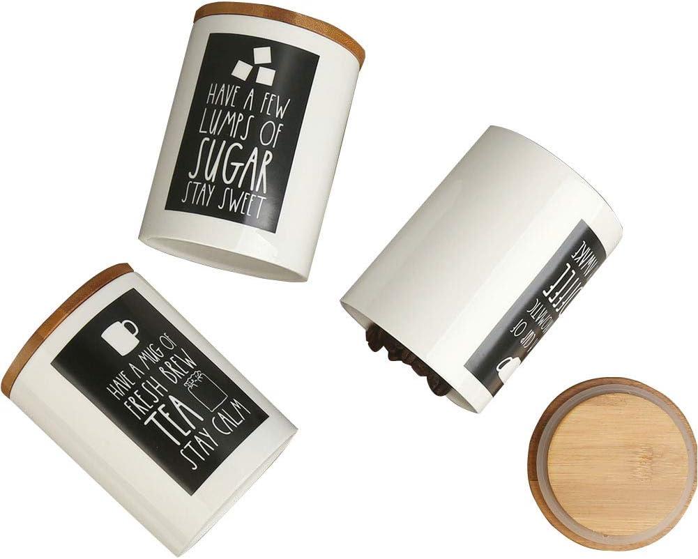 Ranking TOP15 Industry No. 1 3PCS Set Food Storage Jar with Ceramic Portable