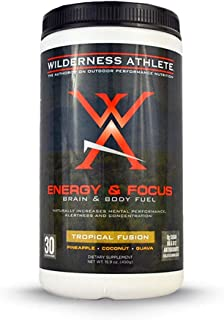 Wilderness Athlete Energy & Focus Tropical Fusion