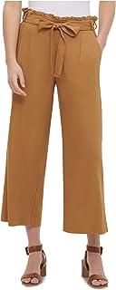 CALVIN KLEIN Womens Brown Capri Pants AU Size:10