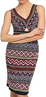 Anthropologie Geo-Embroidered Column Dress by Akemi+Kin Sz 8 - NWT
