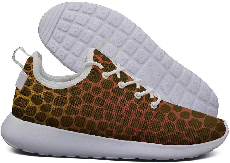 Hoohle Sports Womens Small Giraffe Skin Flex Mesh Roshe 2 Lightweight Fashion Cross-Country Running shoes