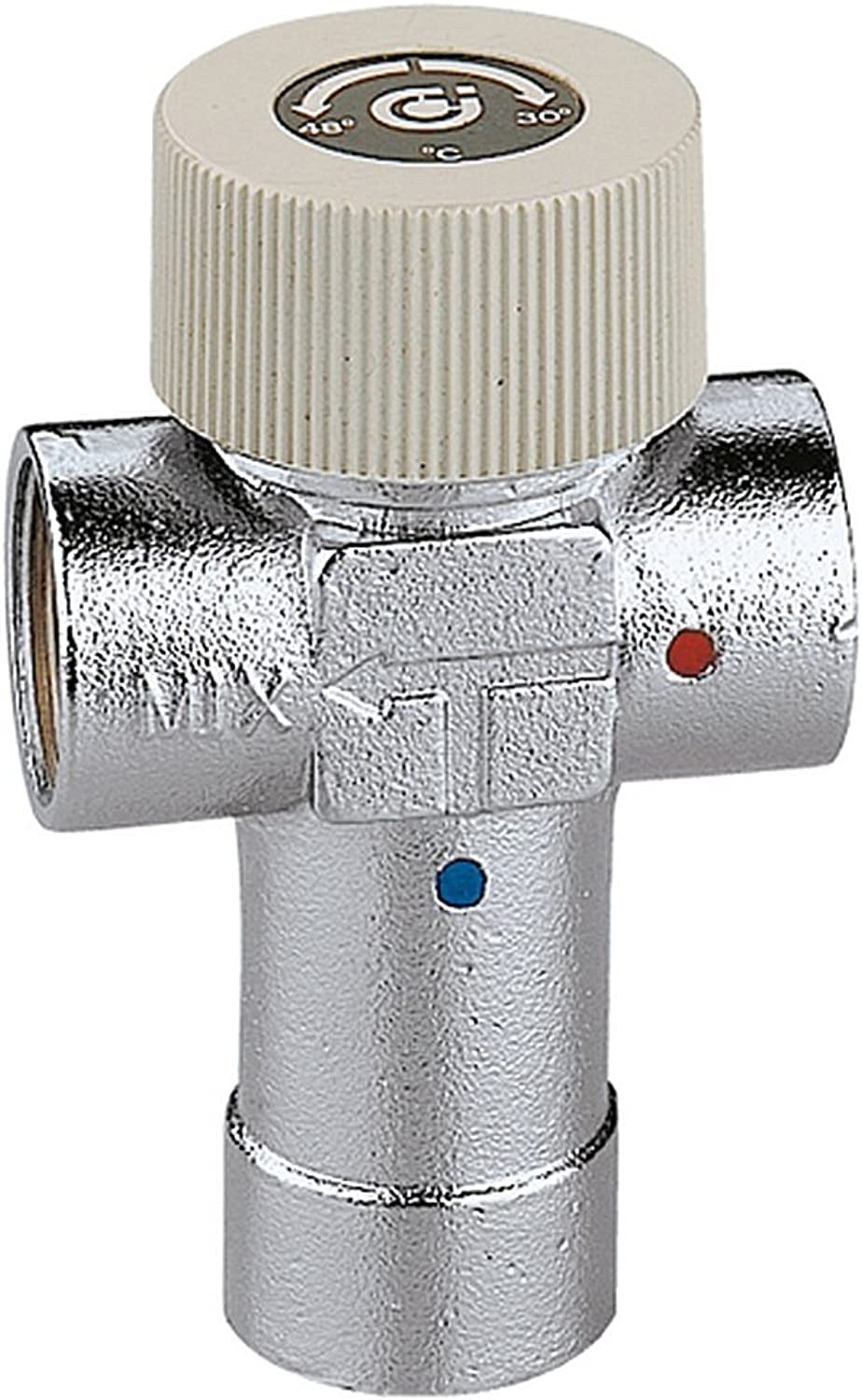 Caleffi 520440 Adjustable Thermostatic Mixing Valve 1 2 Inch 40 - 60 °C