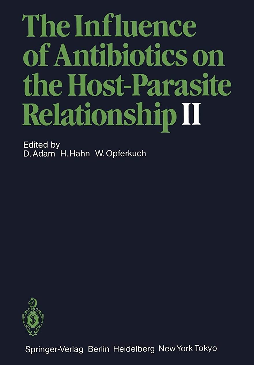 セットアップリーガン葉巻The Influence of Antibiotics on the Host-Parasite Relationship II