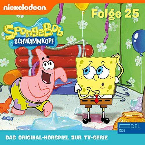 SpongeBob Schwammkopf 25. Das Original-Hörspiel zur TV-Serie Titelbild