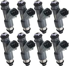 Automotive-leader Set of 8pcs 16600-ZJ50A Fuel Injectors 12 Holes Injector for 2006-2015 Nissan Armada 8 Cyl 5.6L VK56DE 2006-2015 Titan 8 Cyl 5.6L VK56DE 2016-2018 Frontier 6 Cyl 4.0L VQ40DE FJ1076