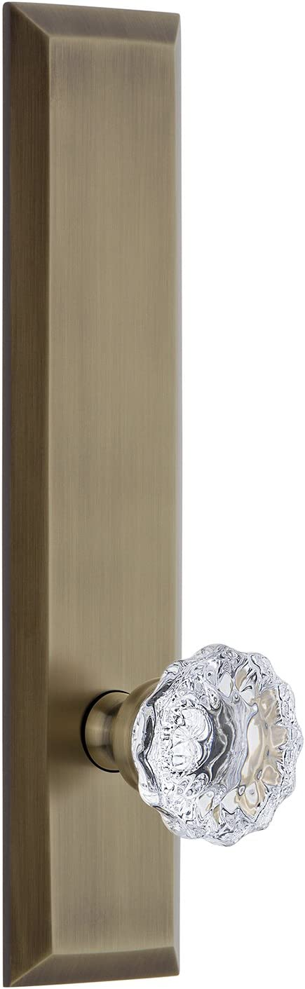 Grandeur 802881 Hardware Fifth Avenue OFFicial store Tall with Plate Large special price !! Fo Passage