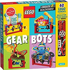 Build 8 physics-driven kinetic creatures using LEGO Technic bricks and papercraft. Includes every LEGO element you need! STEM content about axles, cams, cranks, engineering in everyday machines is included in the 64-page book, alongside the step-by-s...