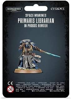 Warhammer 40K: Space Marines Primaris Librarian in Phobos Armor