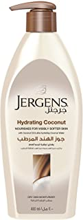 Jergens Hydrating Coconut Dry Skin Moisturizer 400 ml, Pack of 1