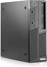 Lenovo IBM M90P Small form factor Business Desktop Computer (Intel Dual Core i5 Up to 3.46GHz Processor) 8GB DDR3 RAM, 2TB HDD, DVD, Windows 10 Home (Renewed)
